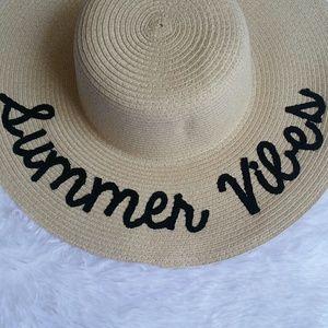 Summer Vibes Sun Hat